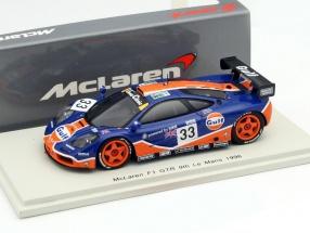 McLaren F1 GTR #33 24h LeMans 1996 Bellm, Weaver, Lehto 1:43 Spark