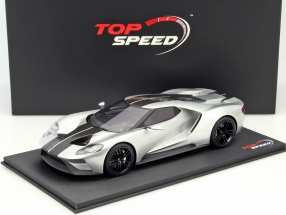 Ford GT Chicago Auto Show 2015 silver 1:18 TrueScale
