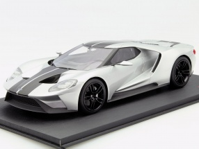 Ford GT Chicago Auto Show 2015 silber 1:18 TrueScale