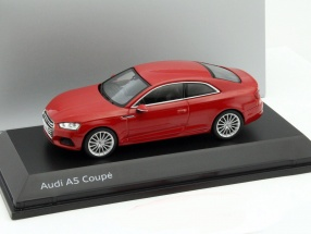 Audi A5 Coupe tango rot 1:43 Spark