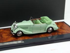 Bentley 4 1/2 Litre All-Weather Tourer Baujahr 1937 mint grün 1:43 Matrix