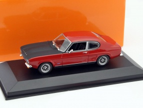 Ford Capri I Year 1969 red 1:43 Minichamps