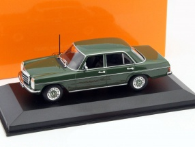 Mercedes-Benz 200 D Year 1973 green 1:43 Minichamps