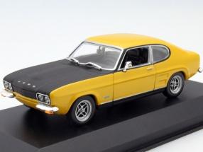 Ford Capri I RS Year 1969 yellow 1:43 Minichamps
