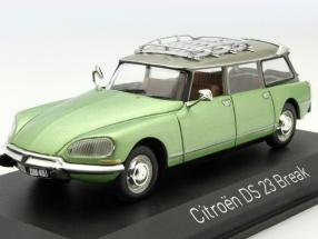 Citroen DS 23 Break Year 1974 green 1:43 Norev