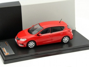 Nissan Pulsar Year 2015 red 1:43 Premium X