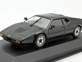 BMW M1 Year 1979 black 1:43 Minichamps