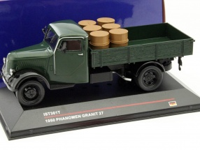 Phänomen Granit 27 with load Year 1950 dark green 1:43 Ixo