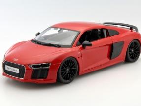 Audi R8 V10 Plus Baujahr 2015 rot 1:18 Maisto