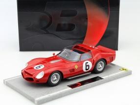 Ferrari 330 TRI #6 Winner 24h LeMans 1962 Gendebien, Hill 1:18 BBR