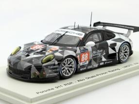 Porsche 911 RSR #88 24h LeMans 2015 Ried, Bachler, Al Qubaisi 1:43 Spark