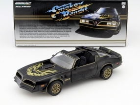 Pontiac Trans Am Smokey and the Bandit I 1977 schwarz / gold 1:24 Greenlight
