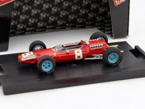 John Surtees Ferrari 512 #8 Italien GP Formel 1 1965 1:43 Brumm