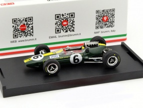 Mike Spence Lotus 33 #6 Italien GP Formel 1 1965 1:43 Brumm