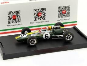 Mike Spence Lotus 33 #6 Italien GP F1 1965 mit Figur 1:43 Brumm