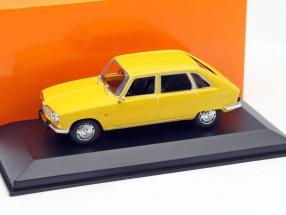 Renault 16 Year 1965 yellow 1:43 Minichamps