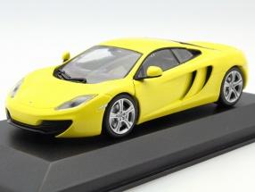 McLaren 12C Baujahr 2011 gelb 1:43 Minichamps