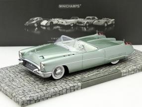 Buick Wildcat I Concept Car Baujahr 1953 grün metallic 1:18 Minichamps