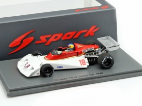 Conny Andersson Surtees TS19 #18 Netherlands GP F1 1976 1:43 Spark