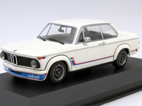 BMW 2002 Turbo Year 1973 white 1:43 Minichamps