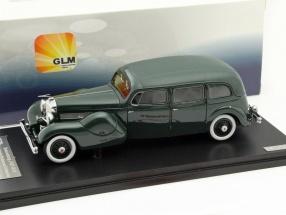 Düsenberg Model J Bohman and Schwartz Throne Car Year 1937 green 1:43 GLM