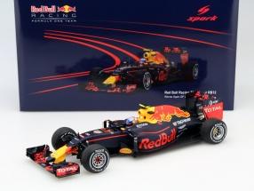 Max Verstappen Red Bull RB12 #33 Winner Spanien GP Formel 1 2016 1:18 Spark