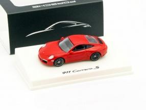 Porsche 911 Carrera S red 1:87 Spark