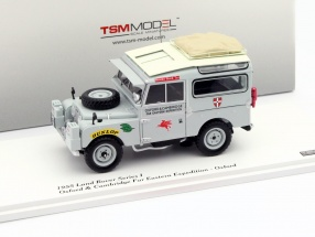 Land Rover Series I Oxford and Cambridge Far Eastern Expedition grau 1:43 TrueScale