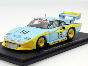 Porsche 935 JLP3 #18 Winner 12h Sebring 1982 Paul Junior, Paul 1:43 Spark