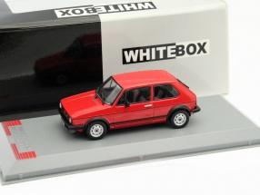 Volkswagen VW Golf I GTI Baujahr 1976 rot 1:43 WhiteBox
