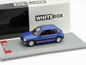 Peugeot 205 GTI Baujahr 1992 blau 1:43 WhiteBox