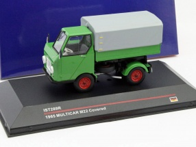 Multicar M22 Covered Year 1965 green 1:43 Ixo