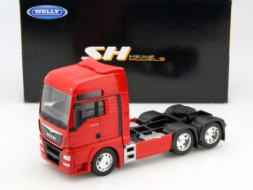 MAN TGX (6x4) red 1:32 Welly