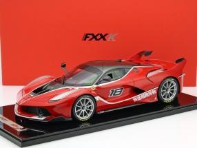 Ferrari FXX-K #18 rot / silber 1:12 BBR