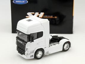 Scania V8 R730 (4x2) Year 2015 white 1:32 Welly