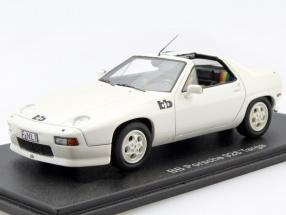 Porsche 928 BB Targa white 1:43 Neo