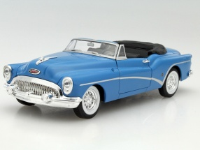 Buick Skylark Convertible Year 1953 blue 1:24 Welly