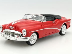 Buick Skylark Convertible Year 1953 red 1:24 Welly
