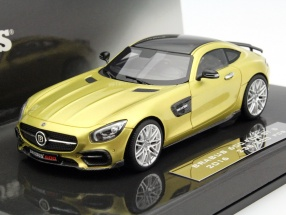 Brabus 600 GT S Year 2016 gold 1:43 Minichamps
