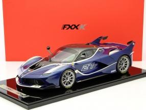 Ferrari FXX-K #27 blau 1:12 BBR