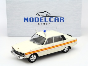 Rover 3500 V8 Great Britain police white 1:18 Model Car Group