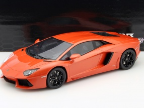 Lamborghini Aventador LP700-4 orange metallic 1:12 Kyosho