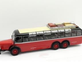 Mercedes-Benz O 10000 Baujahr 1939 rot / schwarz 1:43 Altaya