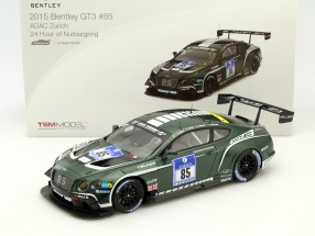 Bentley Continental GT3 #85 24h Nürburgring 2015 Smith, Kane, Meyrick, Arnold 1:18 TrueScale