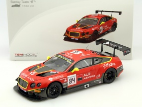 Bentley Continental GT3 #84 24h Spa 2015 Primat, Abril, Parisy 1:18 TrueScale