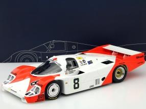 Porsche 956 #8 24h LeMans 1983 Ludwig, Johansson, Wollek 1:12 TrueScale