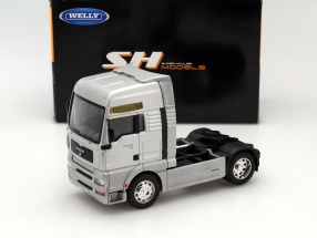 MAN TG510A Truck silber 1:32 Welly