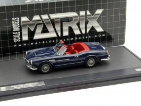Maserati Vignale 3500 GT Spyder Prototipo Year 1959 blue 1:43 Matrix