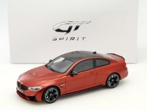 BMW M4 M-Performance Edition orange 1:18 GT-SPIRIT