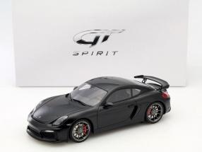 Porsche Cayman GT4 schwarz 1:18 GT-SPIRIT